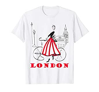 Amazon.com: Camiseta de Londres para mujer, camiseta Big Ben ...
