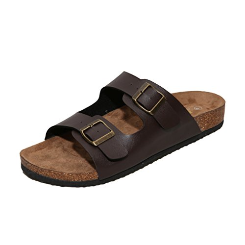 WTW Men's Sandals (7 D(M) US, - Platform Side Leather West