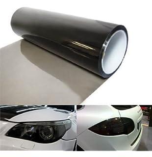 "New 5ft x 60/"" medium shade smoke taillight or headlight pvc film cover overlay"