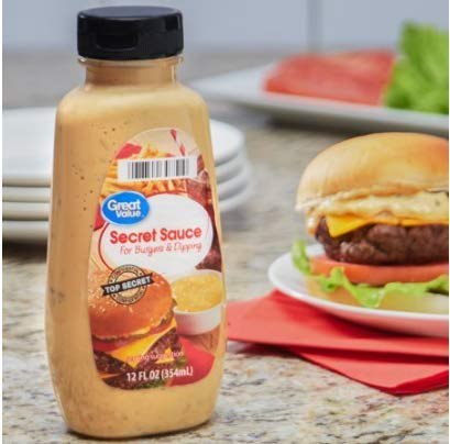 Great Value Secret Sauce For Burgers & Dipping, 12 fl oz