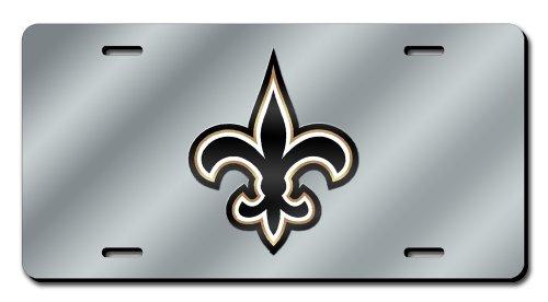 NFL New Orleans Saints Laser-Cut Auto Tag