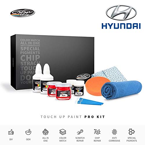 Color N Drive   Hyundai YY - Tuscani Yellow/Sunny Yellow Touch Up Paint   Compatible with All Hyundai Models   Paint Scratch, Chips Repair   OEM Quality   Exact Match   Pro (Yy Pro)