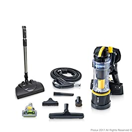 2018 Prolux 2.0 Commercial Bagless Backpack Vacuum Commercial Power Nozzle Kit