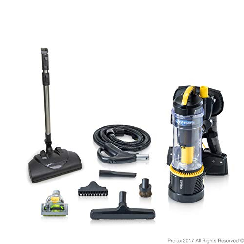 - 2018 Prolux 2.0 Commercial Bagless Backpack Vacuum Commercial Power Nozzle Kit