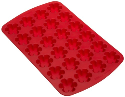Wilton 2105-4910 Silicone 24 Cavity Snowflake Mold- Discontinued By Manufacturer