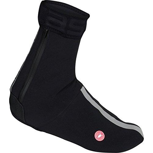 Cordura Shoe Covers - Castelli Tempesta Shoecovers Black/Reflective Silver, M