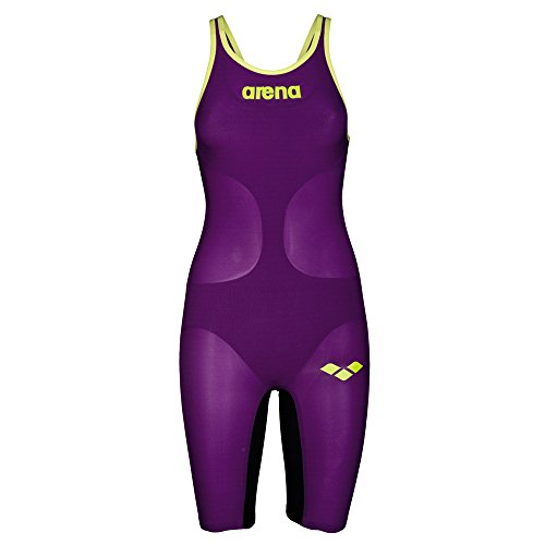 Arena W Pwsk Carbon Air Fbslc Bañador, Mujer rosa (plum / fluo)