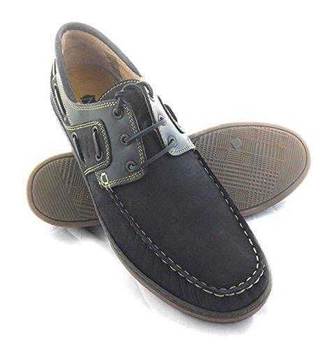 025393e3fbe74 Chaussure Zerimar En Cuir Nautique Avec Semelle En Caoutchouc Souple 100%  Cuir Premium Design Marquage