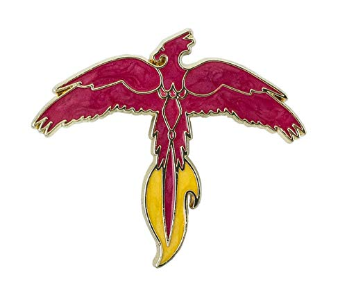 (Loot Crate Harry Potter Fawkes Phoenix Enamlel Pin Exclusive)