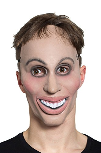 The Purge Costumes For Halloween (HMS Latex Rubber Creepy Male Eradicate Mask- One Size, 8.5