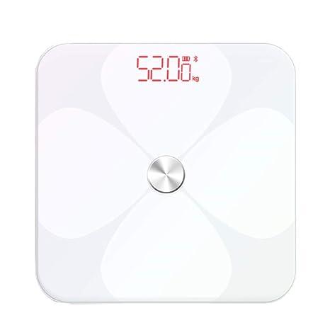 Básculas Digitales Escala de Peso Corporal de Alta precisión Bajar de Peso Báscula de baño Digital