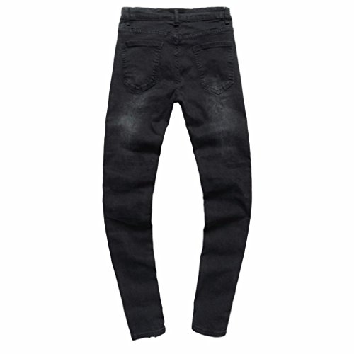 jeans hombre,Sonnena pantalones rotos largos vaqueros hombres vaqueros pantalones hippie harem pantalones de deportivos con bolsillos slim fit skinny ...