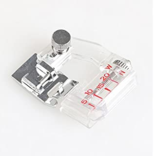 Alfa Prensatelas fruncidor, accesorio para máquina de coser, acero inoxidable: Amazon.es: Hogar