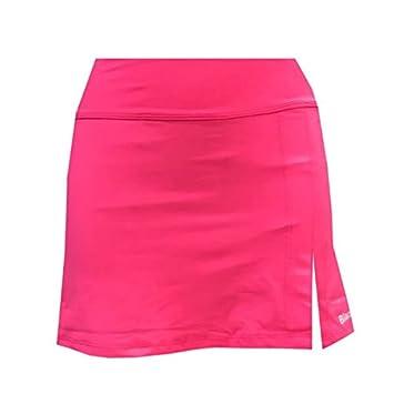 Falda Padel Black Crown Mujer Zurich Rosa-S: Amazon.es: Deportes y ...