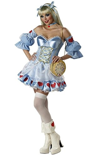 Alice Costume - Rebel Toons Adult Costume deluxe - Large (Rebel Toons)