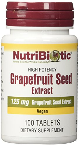 GRAPEFRUIT SEED EXTRACT,125 mg ,100 tablets - Extract 100 Tablets