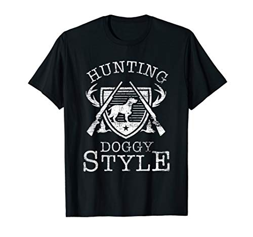 Hunting Doggy Style Hunting Dog T-Shirt