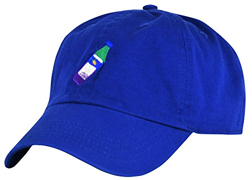 JLGUSA Lean Codein Dirty Sprite Emoji Memes Embroidered Dad Hat Baseball Cap Adjustable (Royal)
