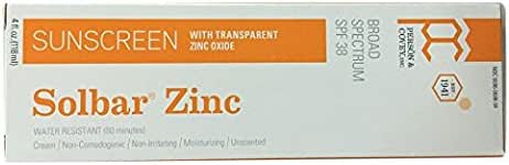 Sunscreen & Tanning: Solbar Zinc