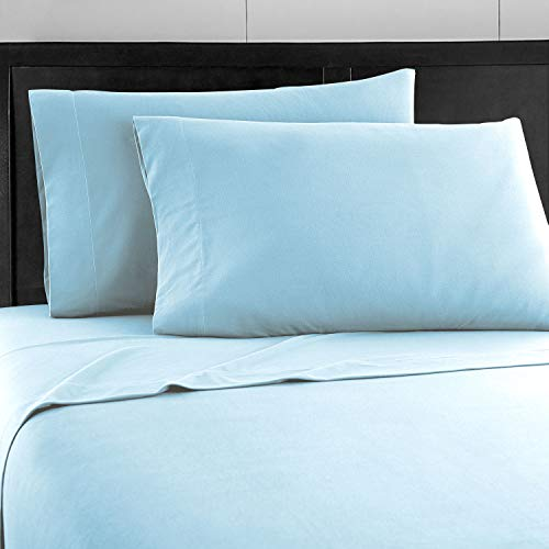 Prime Bedding Bed Sheets  4 Piece Queen Sheets Deep Pocket Fitted Sheet Flat Sheet Pillow Cases