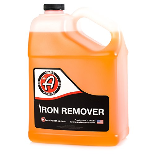 Adam's Iron Remover - Dissolves Iron Particles Embedded into Paint Surfaces - Changes Color to Purple as it Works (1 Gallon)