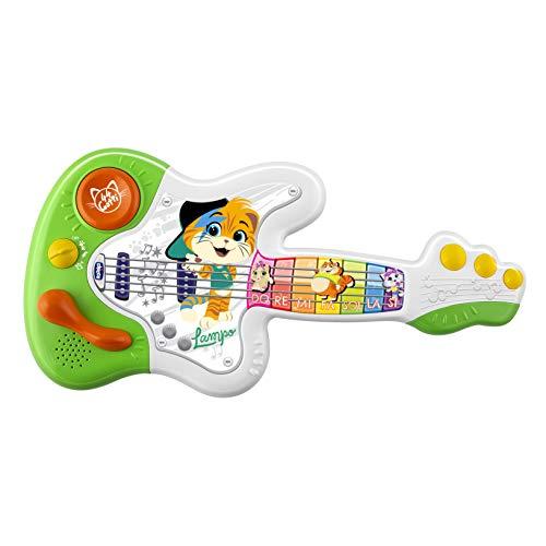 Chicco – Guitarra de 44 Gatos, Instrumento Musical, 1 4 años