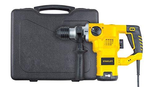 Stanley Rotomartillo SDS 1-1/4 pulg 1250W 3 Mod + 7 Accesorios