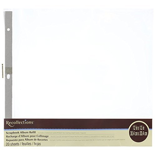 Scrapbook Album Refill Value Pack By Recollections (1) by Recollections