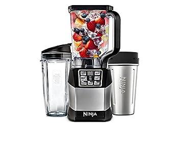 Nutria Ninja - Sistema de mezclador compacto 1200 W con vasos NutriNinja - BL490 (certificado renovado): Amazon.es: Hogar