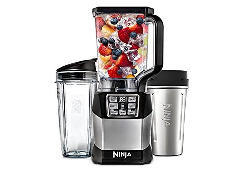 Nutri Ninja Auto-IQ BL490 1200 Watts High-Performance Blender (Certified Refurbished)