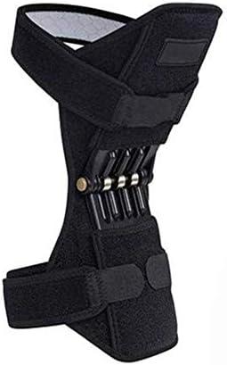 JL Knie-Booster Feder Knie Polster Brace Power Power Lift Federkraft Gelenkstütze Knieschützer Old Cold Leg Knieband Bergsteigen Deep Care (Single)