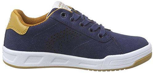 navy Zapatillas Geox D brownc0948 Rolk Niños Geoxj Azul Boy Blau wqIRq86