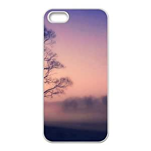 Glam Misty Forest Fashion Personalized Clear Cell Phone Case For Iphone 5S