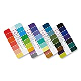 itcolor Seasonal Color Swatch Palette Guide Card (4 Cards) Finding Right Color For Me Color Harmony Combination Fashion Hair Makeup Clothes Adviser Guide Shopping Portable Business Card Size