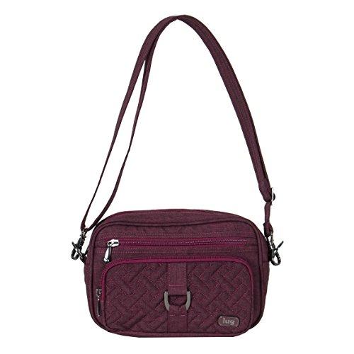 Lug Women's Crossbody Cross Body Bag, HEATHER CRANBER, One -