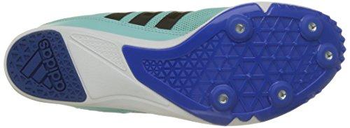 adidas Damen Distancestar W Joggingschuhe, Orange VIF/Noir/Rose Flash Mehrfarbig (Clear Aqua/core Black/blue)