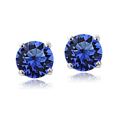 Birthstone Crystal Earrings Swarovski Elements product image
