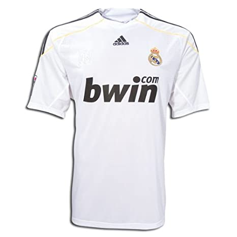 388d7fe5dd0c3 Amazon.com : adidas Real Madrid Home Jersey 09/10 : Sports Fan ...