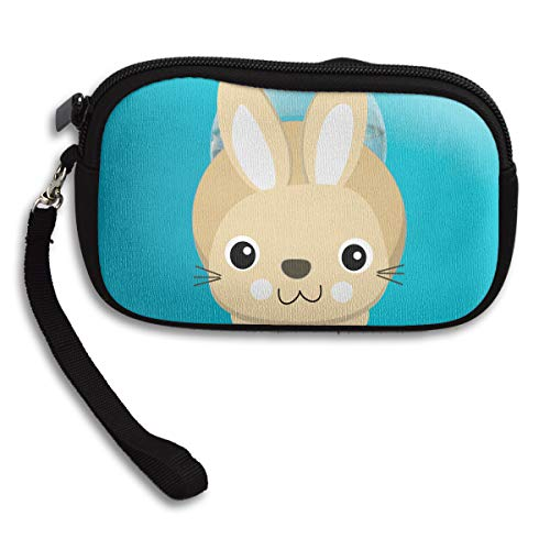 Printing Purse Bag Cute Rabbit Small Portable Deluxe Receiving SqnpEwP