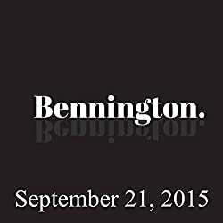 Bennington, Brian Regan and Judah Friedlander, September 21, 2015