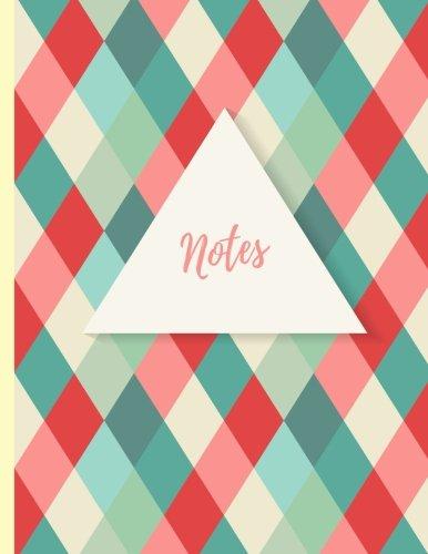 Notes: Carnet de notes lign pour crire toutes vos ides au quotidien, Carnet de taille A4, XXL (Papeterie de bureau fantaisie) (Volume 2) (French Edition)