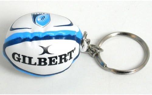 Gilbert Cardiff Blues - Llavero de pelota de rugby: Amazon.es: Ropa y accesorios