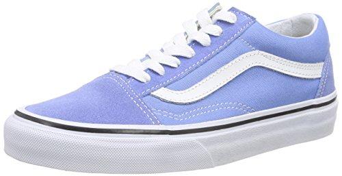 Vans U Old Skool Scarpe da Ginnastica Basse, Unisex Adulto Blu (Marina/True White)
