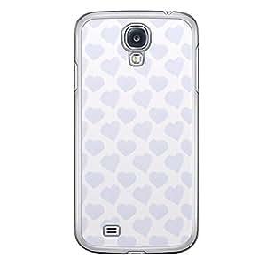 Loud Universe Samsung Galaxy S4 Love Valentine Printing Files A Valentine 96 Printed Transparent Edge Case - White/Purple