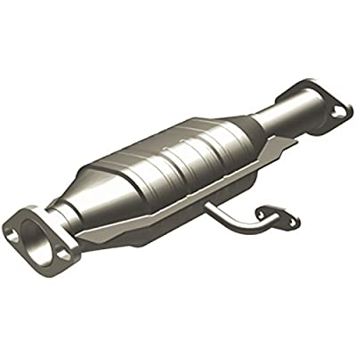 MagnaFlow 338688 Large Stainless Steel CA Legal Direct Fit Catalytic Converter