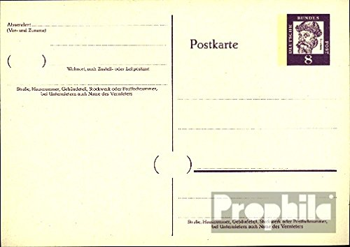 FRD (FR.Germany) P66 Official Postcard significant. German (documents philatelic covers for collectors)