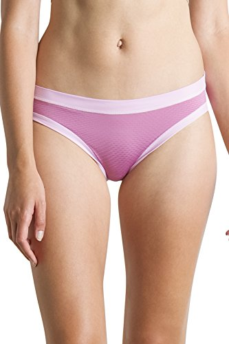 - ExOfficio Give-N-Go Sport Mesh Bikini Brief (L - Sweetheart)