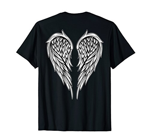 Wings On The Back Side Angel t-shirt