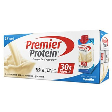 Premier Nutrition High Protein Shake, Vanilla, 11 oz., MegaPack 2Pack (18 Count Each ) 6lflSD by Premier Nutrition