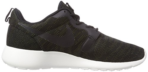 NIKE Women's Roshe One Running Shoe Faded Olive/Black-sail